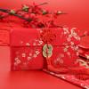 唐绣(TONSILK)创意刺绣丝绸万元布艺红包袋新年春节结婚庆用品利是封锦缎T04-2梅花