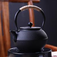 领艺 铁壶 手工铸铁烧水煮茶壶 大容量泡茶壶 雨霖铃铸铁壶