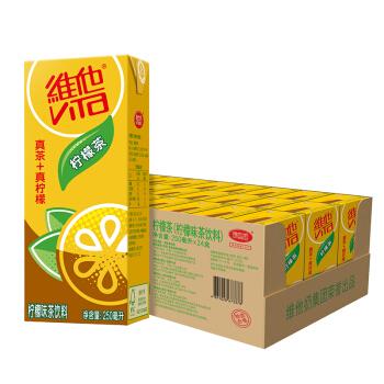 维他奶 维他柠檬茶250ml*24 苗条专供装 果味红茶 柠檬味饮品家庭装