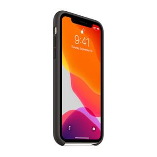 Apple 苹果 iPhone 11 硅胶保护壳 黑色