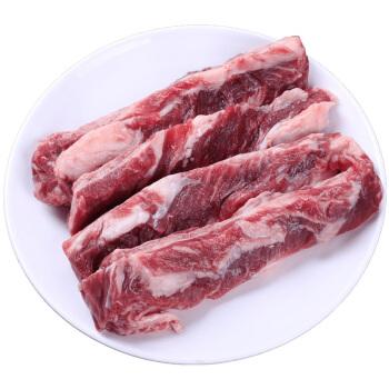 伊赛 巴西原切牛肋条肉 1kg  进口草饲牛肉