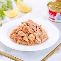 Wanpy 顽皮 成幼猫零食罐 85g*24罐 白身吞拿鱼+明虾罐头(汤汁型)