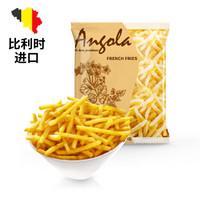 安格瑞 比利时1/4冷冻细薯条 1000g