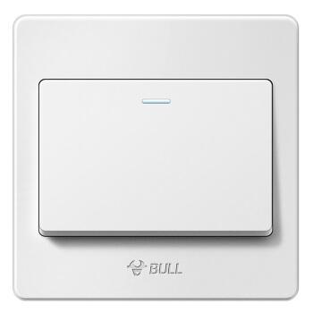 BULL 公牛 G07K111Y 插座 一开单控