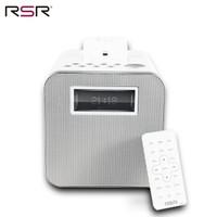 RSR DS411 苹果音响蓝牙家居音响 iPhone X/8/7/6s/ipad手机底座音响 白色