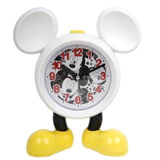Disney 迪士尼 创意闹钟米奇可爱卡通闹钟学生儿童起床闹铃懒人床头钟静音男孩女孩时钟 NZ-004-B