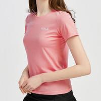 骆驼运动女式T恤2020夏新修身显瘦透气短袖T恤