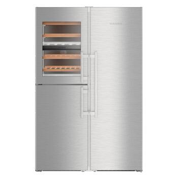 LIEBHERR 740升独立式对开三门带酒柜冰箱 BluPerformance技术 德国原装进口 SBSes8486