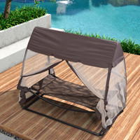紫叶(ziye)户外吊床躺椅秋千吊椅躺床室外阳台庭院花园室内双人成人摇椅