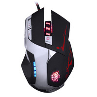 讯拓(Sunt)蜂煞三 有线鼠标 游戏鼠标 便携鼠标 电竞鼠标 高端自定义 LOL黑色 自营 8000DPI
