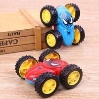 新品惯性双面翻斗车耐摔360玩具车转向儿童礼物玩具