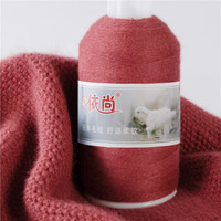 依尚 羊绒线 毛线 26/2中细线 手编机织均可 婴儿宝宝 羊绒毛线 围巾线 羊毛线 详情中76个颜色全部有现货