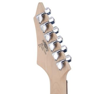 考特(CORT)X1 初学者单摇电吉他 X系列入门学生双双拾音器红色