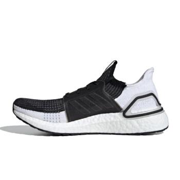 adidas 阿迪达斯 ULTRA BOOST 19 男士跑鞋 B37704 黑色/白色/灰色 39