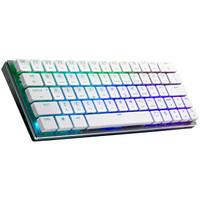 COOLERMASTER 酷冷至尊 SK621 64键 蓝牙无线机械键盘 白色 CherryMX矮轴 RGB