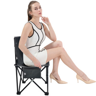 凯速KANSOON 便携式折叠椅小凳子 简易钓鱼椅 户外休闲马扎 沙滩椅40X40x64cm  FC40