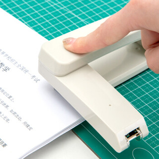 deli 得力 0434 中缝装订订书器 12号 白色