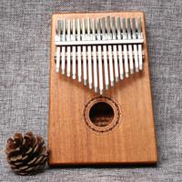 MIDWAY 美德威 拇指琴卡林巴琴 桃花芯木单板17键非洲手指琴Kalimba 17音相手拨琴