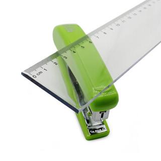 欧标(MATE-IST)透明尺子 学生直尺20cm 塑料尺子 测量尺 B2481