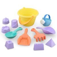 贝恩施儿童沙滩玩具套装宝宝沙池挖沙铲沙玩沙子铲子和桶工具洗澡