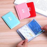 藏猫猫韩版卡包男女通用银行卡包卡片包女式卡包防消磁卡套小巧 卡包颜色随机发