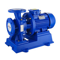 开利 ISW100-250(I) 卧式管道离心泵 380V 功率55KW 流量160 扬程80m 口径4寸