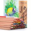 马可(MARCO)6120-48CT 48色水溶性原木无漆彩色铅笔 手绘填色初学绘画练习彩铅 筒装