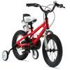 优贝(RoyalBaby)儿童自行车 小孩单车男女童车 宝宝脚踏车山地车 3岁5岁7岁9岁 表演车14寸 红色