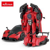 RASTAR 星辉 1:32 帕加尼 变形合金变形玩具汽车 61900 红色