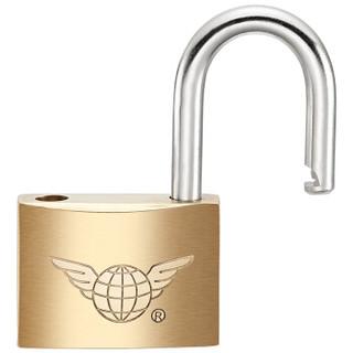 飞球(Fly.Globe)铜挂锁迷你箱包锁宿舍门锁学生抽屉防盗柜子锁小锁 FQ-B*25MM