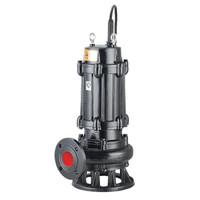 开利WQ45-22-7.5无堵塞排污泵(电机两极)380v功率7.5kw流量45扬程22m口径3寸