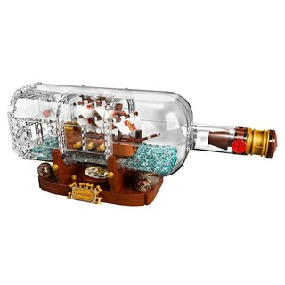 LEGO 乐高 Ideas 创意系列 21313 瓶中船