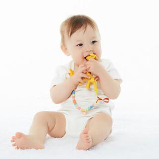马博士婴儿长颈鹿香蕉牙胶 硅胶磨牙棒 宝宝安抚咬咬胶 小鹿香蕉牙胶