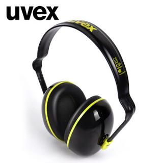 UVEX优唯斯 K200耳罩降噪音隔音工业打磨学习睡觉防打呼噜宿舍吵闹装修噪音