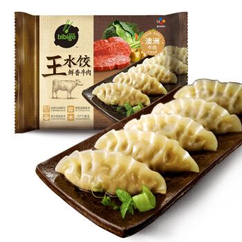 bibigo  必品阁  鲜香牛肉王水饺 300g 12只装