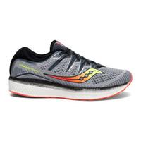 saucony 索康尼 Triumph ISO 5 男士跑鞋 S20462-1 灰色/黑色 42