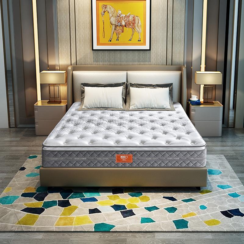 SLEEMON 喜临门 理想生活 竹炭乳胶独袋弹簧床垫 1.8*2m