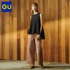GU 极优 320322 女装高腰阔腿裤