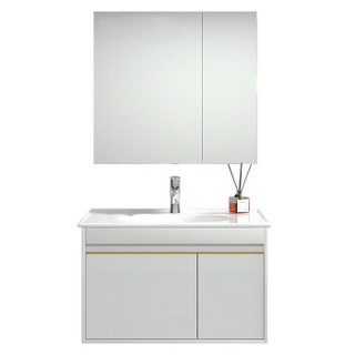 JOMOO 九牧  A2255 简欧浴室柜组合 普通款 80cm