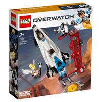乐高(LEGO)积木 守望先锋Overwatch监测站直布罗陀9岁+ 75975 儿童玩具 男孩女孩生日礼物