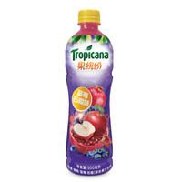 果缤纷 蓝莓石榴味 果汁饮料 500ml*15瓶 整箱装 百事出品 *4件+凑单品