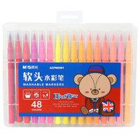 M&G 晨光 ACPN0391 软头水彩笔 ( 48支/盒)