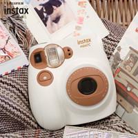 富士INSTAX 立拍立得 mini7C 相机 奶咖色