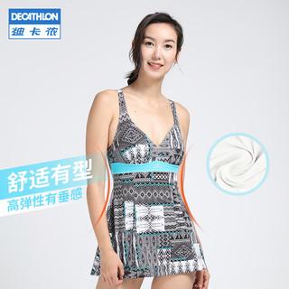 DECATHLON 迪卡侬 8546330 女款裙式泳衣
