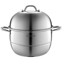 MAXCOOK 美厨  MCZ777 不锈钢蒸锅 34CM