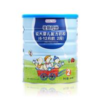 合生元 爱斯时光 有机配方奶粉 2段 3年净化有机牧场 法国原罐进口 400g(6-12个月)新老包装随机发