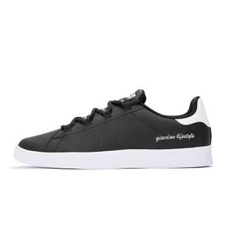 乔丹 男鞋板鞋小白鞋休闲鞋运动鞋男 XM2580311 黑色/白色 40
