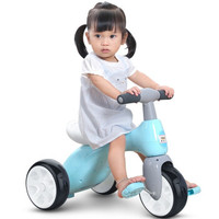 TOKIDS 童骑士 儿童三轮脚踏车 TPR静音牙胶轮不侧翻(骑士蓝)