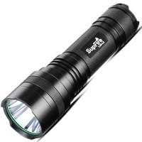 神火(supfire)L26 5W强光手电筒 USB充电式远射款LED骑行户外灯 配26650电池