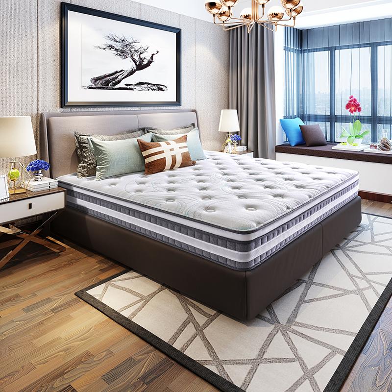 20日0点、移动专享 : SLEEMON 喜临门 光年护脊版 独袋弹簧黄麻床垫 1.5/1.8m床